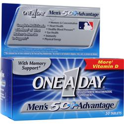 BAYER HEALTHCARE ONE A DAY Men's 50+ Advantage 50 tabs