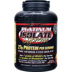 SAN Platinum Isolate Supreme Delicious Milk Chocolate 5.02 lbs