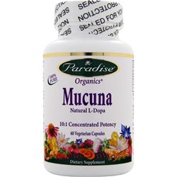 Paradise Herbs Mucana - Natural L-Dopa 60 vcaps