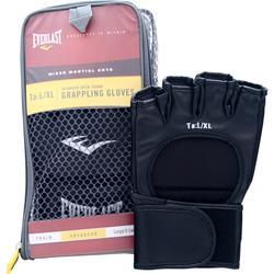 Everlast Mixed Martial Arts Open Thumb Grappling Gloves Black L/XL 2 glove