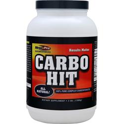 Mega Pro Carbo Hit Natural 3 lbs