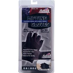 Schiek Sports Lifting Gloves Platinum Series with Wrist Wraps XX-Large 2 glove
