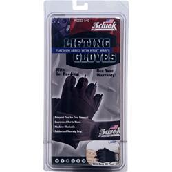 Schiek Sports Lifting Gloves Platinum Series with Wrist Wraps X-Small 2 glove