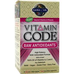 GARDEN OF LIFE Vitamin Code - Raw Antioxidants 30 vcaps