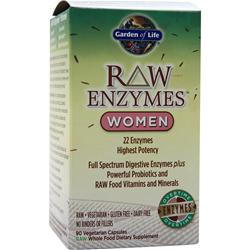 Garden Of Life Raw Enzymes - Women 90 vcaps