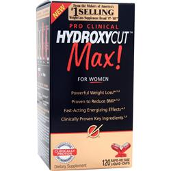 MUSCLETECH Hydroxycut Max! Pro Clinical for Women 120 caps