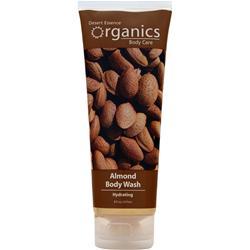 Desert Essence Organics Body Care Body Wash Almond 8 fl.oz