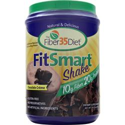 RENEW LIFE The Fiber35Diet - FitSmart Shake Chocolate Cream 1.6 lbs