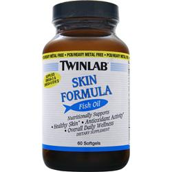 TWINLAB Skin Formula Fish Oil 60 sgels