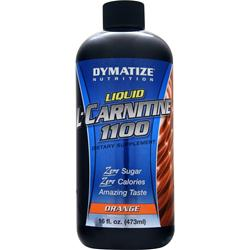 DYMATIZE NUTRITION Liquid L-Carnitine 1100 Orange 16 fl.oz