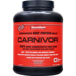 MUSCLEMEDS Carnivor Chocolate 4.6 lbs