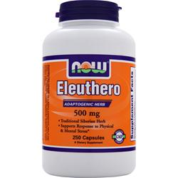 Now Eleuthero (500mg) 250 caps