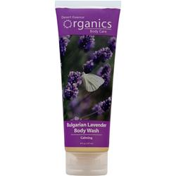 DESERT ESSENCE Organics Body Care Body Wash Bulgarian Lavender 8 fl.oz