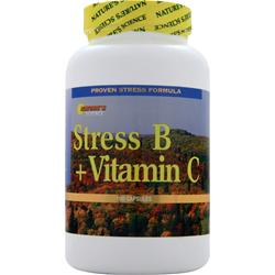 NATURE'S SCIENCE Stress B + Vitamin C 100 caps