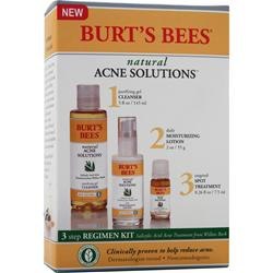BURT'S BEES Natural Acne Solutions 3 Step Regimen Kit 1 kit