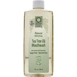 DESERT ESSENCE Tea Tree Oil Mouthwash (Sugar & Alcohol Free) Spearmint 16 oz