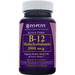 MRM B-12 Methylcobalamin (2000mcg) 60 lzngs
