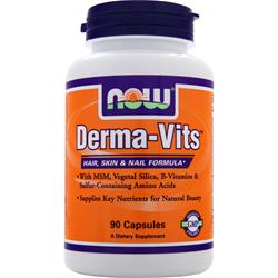 NOW Derma-Vits 90 caps