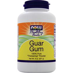 NOW Guar Gum - 100% Pure Thickening Powder 8 oz