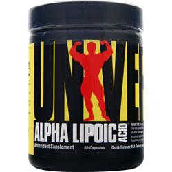 UNIVERSAL NUTRITION Alpha Lipoic Acid (100mg) 60 caps