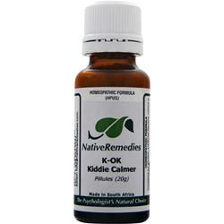 NATIVE REMEDIES K-OK Kiddie Calmer 20 grams