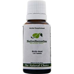NATIVE REMEDIES Birth-Heal 125 tabs