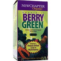 New Chapter Organics - Probiotic Berry Green 180 vcaps