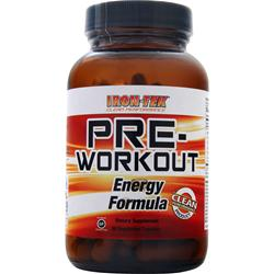 Iron-Tek Pre-Workout Energy Formula 90 vcaps