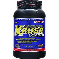 ALLMAX NUTRITION Krush Loaded Fruit Punch Recharge 3.3 lbs