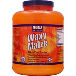 NOW Waxy Maize 5.5 lbs