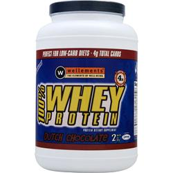 WELLEMENTS 100% Whey Protein Chocolate 2 lbs