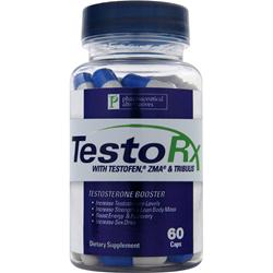 High Energy Labs Pharmaceutical Alternatives -TestoRx  EXPIRES 2/18 60 caps