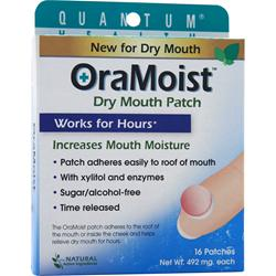 QUANTUM OraMoist Dry Mouth Patch 16 unit