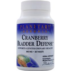 PLANETARY FORMULAS Cranberry Bladder Defense 60 tabs