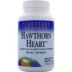 PLANETARY FORMULAS Hawthorn Heart 120 tabs