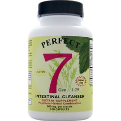Agape Health Products Perfect 7 Intestinal Cleanser 400 caps