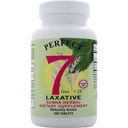 Agape Health Products Perfect 7 Laxative 200 tabs