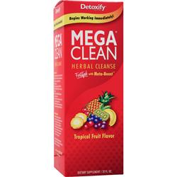 DETOXIFY Mega Clean - Herbal Cleanse Tropical Fruit 32 fl.oz