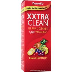 DETOXIFY XXtra Clean - Herbal Cleanse Tropical Fruit 20 fl.oz