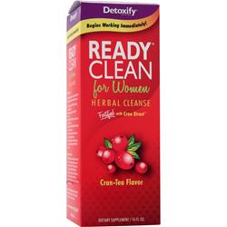 DETOXIFY Ready Clean for Women - Herbal Cleanse Cran-Tea 16 fl.oz