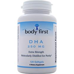 Body First DHA (250mg) 120 sgels