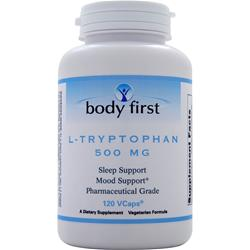 Body First L-Tryptophan (500mg) 120 vcaps