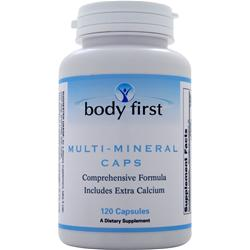 Body First Multi-Mineral Caps 120 caps