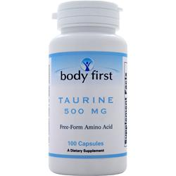 BODY FIRST Taurine (500mg) 100 caps