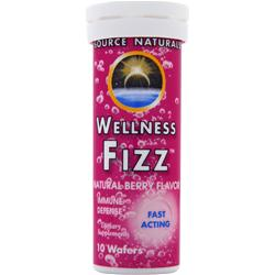 SOURCE NATURALS Wellness Fizz Berry 10 wafrs