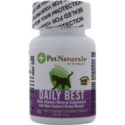 Pet Naturals Of Vermont Daily Best 100 tabs