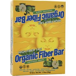 RENEW LIFE Organic Fiber Bar Apple 18 bars