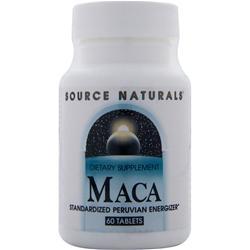 Source Naturals Maca 60 tabs