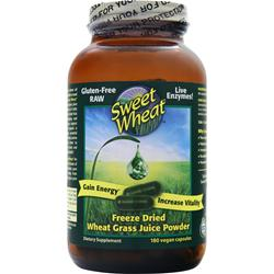 SWEET WHEAT Freeze Dried Wheat Grass Juice 180 vcaps