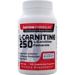 JARROW L-Carnitine 250 100 vcaps